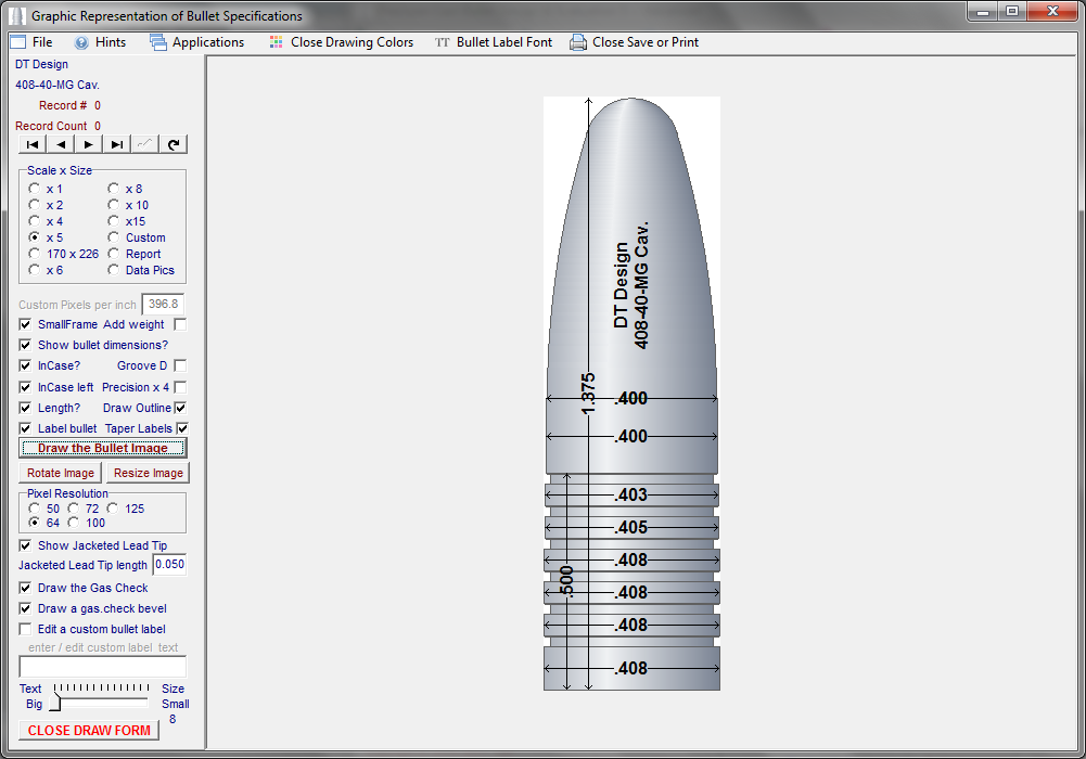 Cast Bullet Design and Evaluation ~ Advanced - Version 5 - Click Image to Close