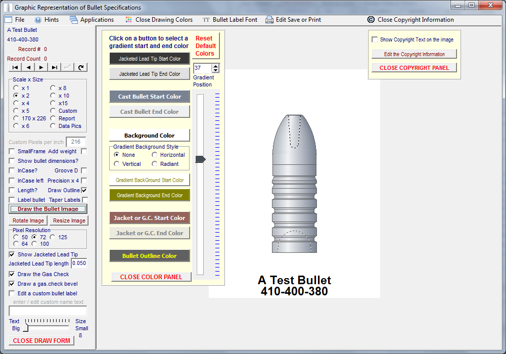 Cast Bullet Design and Evaluation ~ Professional - Version 5 - Click Image to Close